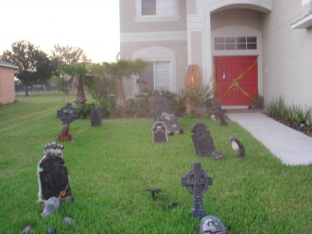 Party Pool, Halloween idea, front yard